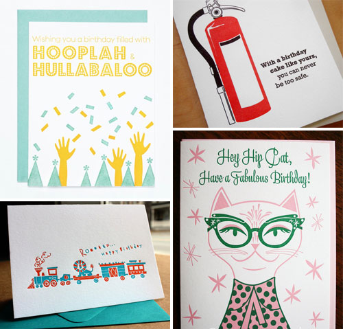Fun, Modern Birthday Cards