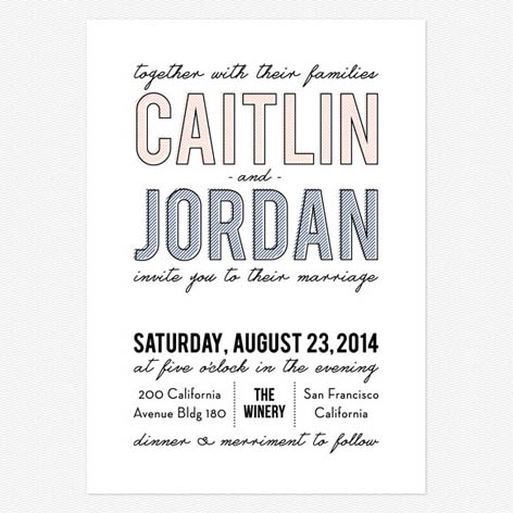 Dream Big Wedding Invitations