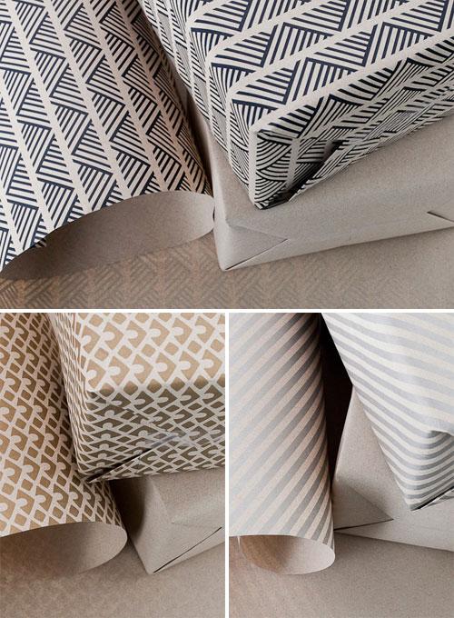 Modern Kraft Paper Gift Wrap | Smock