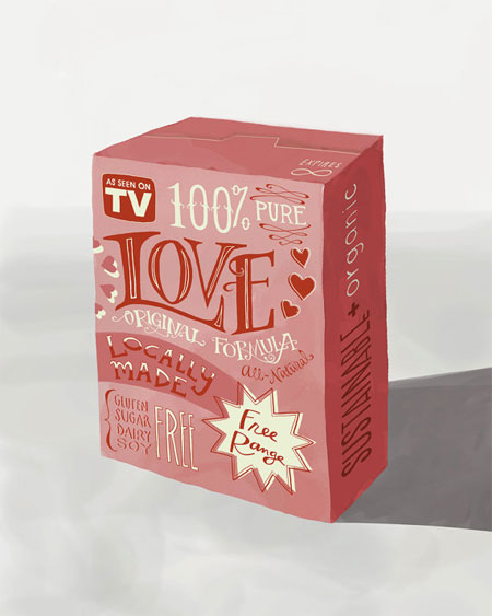 Box of Love Print by Emily McDowell