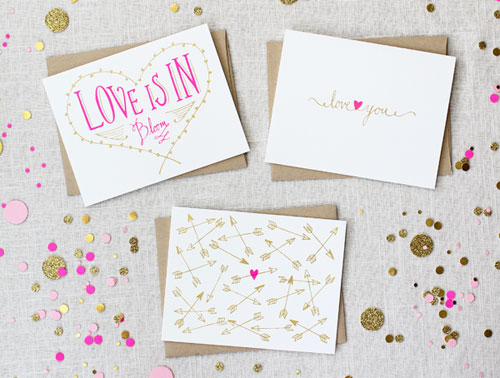 Maple & Belmont Love Cards