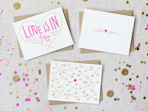 Maple & Belmont Love Cards
