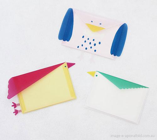 Bird Minicard Trio