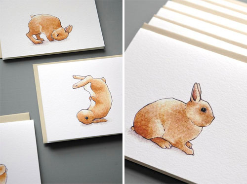 Netherland Dwarf Bunny Cards