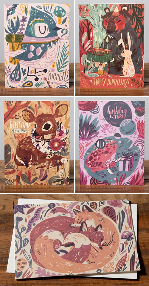 Meg Hunt Greeting Cards