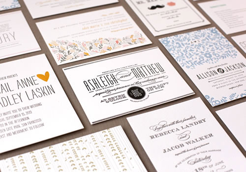 Sponsored : Minted Letterpress Wedding + Giveaway