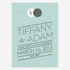 Modern Day Love Save the Date Cards