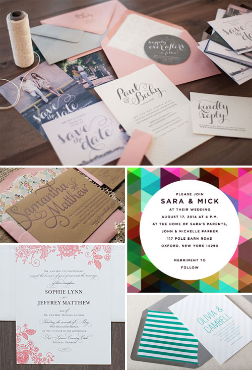 Modern Wedding Invitation Designs