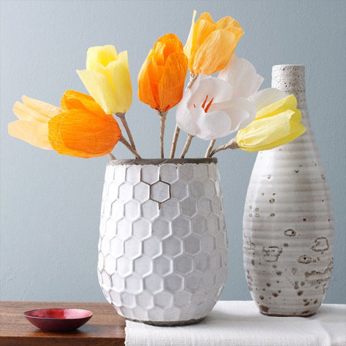Paper Tulips from West Elm