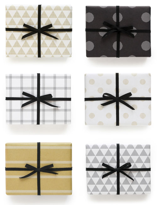 Modern Patterned Wrapping Paper | Pei Design