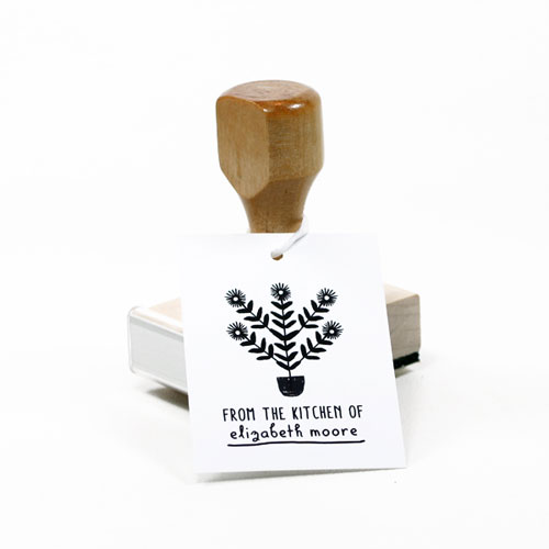 Custom Plant Stamp | The Small Object