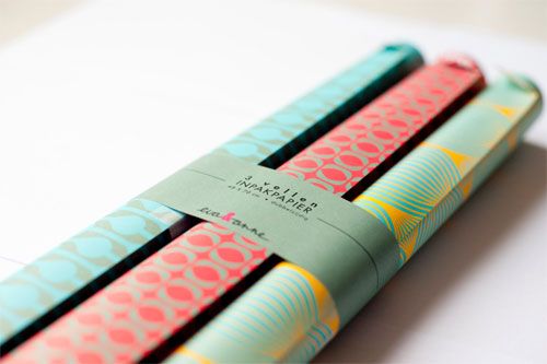 Colorful Mod Patterned Gift Wrap | Eva & Anne