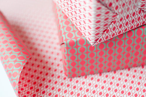 Patterned Gift Wrap | Eva & Anne