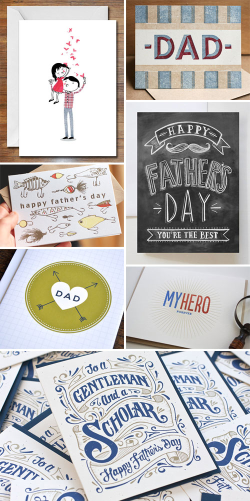 Father's Day Card Picks as seen on papercrave.com