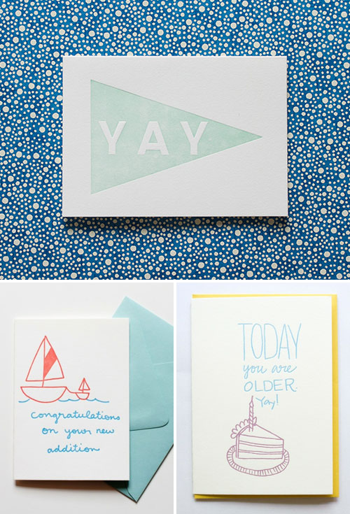 Whimsical Letterpress Cards | Iron Curtain Press