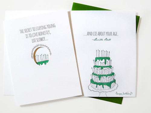 Quotations Letterpress Card | Wild Ink Press
