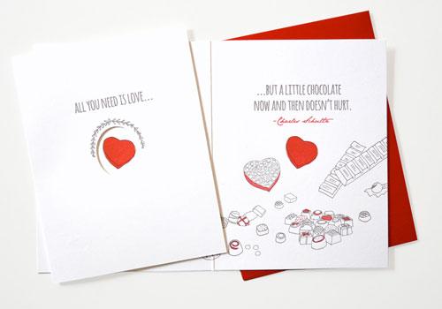 Quotations Letterpress Card   Wild Ink Press