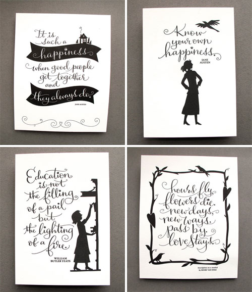 Letterpress Art Prints | Tag Team Tompkins