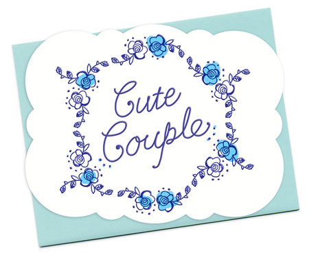 Cute Couple Card | Night Owl Paper Goods