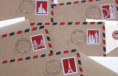 City Notecards | Designs by Val