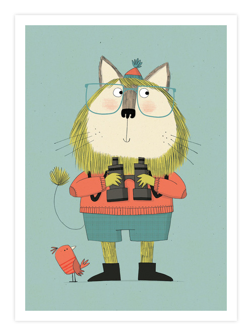 Twitcher Giclee Print | Kate Hindley