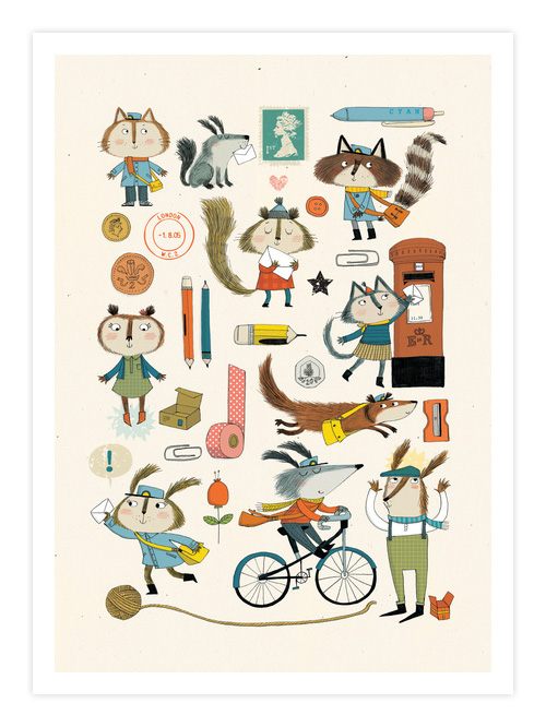 Everybody Likes Nice Giclee Print | Kate Hindley