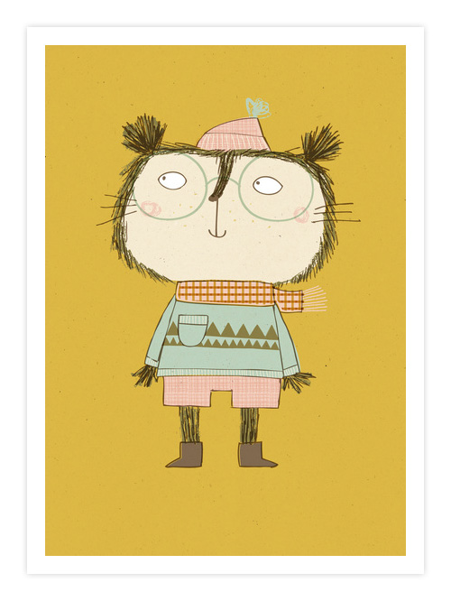 Edgar Giclee Print | Kate Hindley