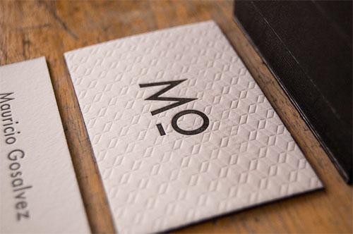 Mº Business Cards | El Calotipo (printing) + Maya del Barrio (design)