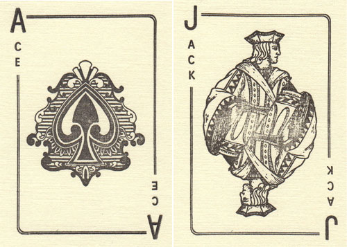 Playing Card Greeting Cards   Katie Leamon