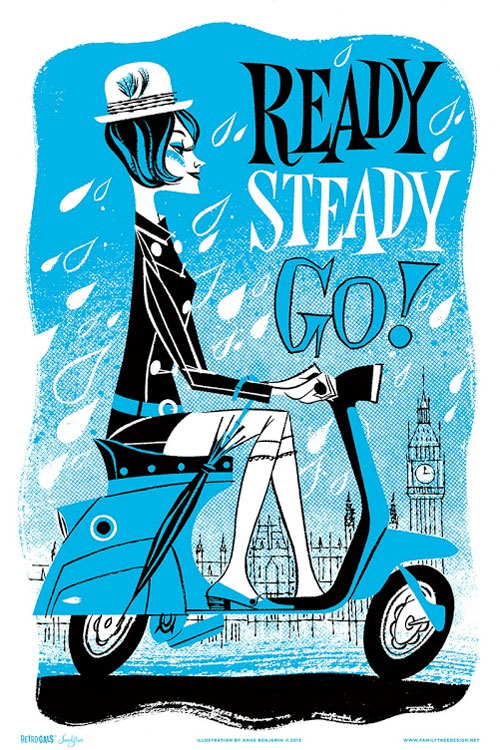 Ready, Steady, Go! by Anne Benjamin