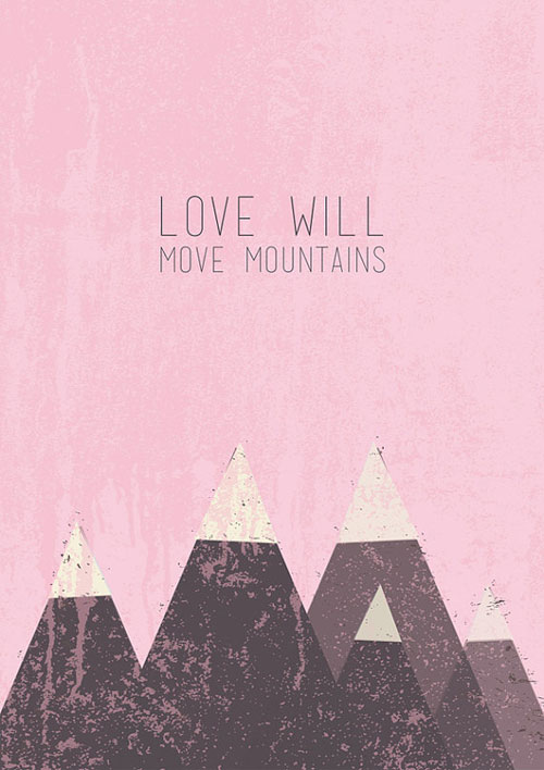 Mountains Print | Bigode Digital