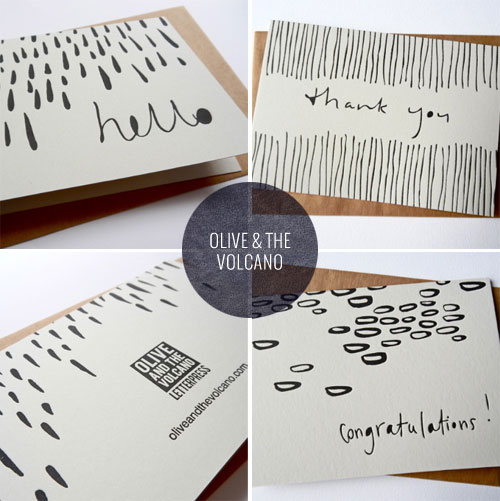 """Communicate"" Letterpress Notecards 