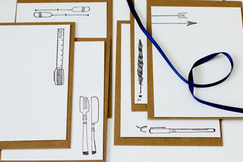 Letterpress Stationery | Prickle Press