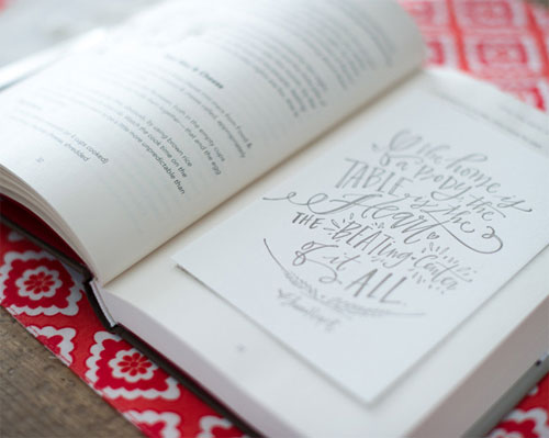 The Table Mini Print | Lindsay Letters