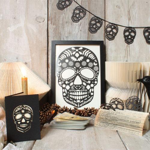 Lasercut Sugar Skull Pieces | Mr. Yen