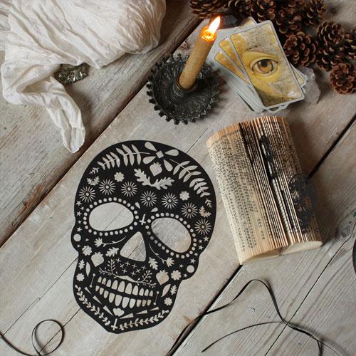 Lasercut Sugar Skull | Mr. Yen
