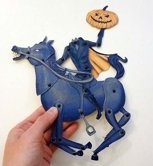 Printable Halloween Paper Puppets | Artist In La La Land