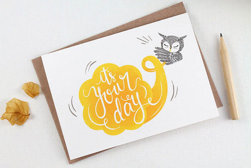 It's Your Day Greeting Card | Whimsy Whimsical