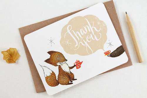 Thank You Notecards | Whimsy Whimsical