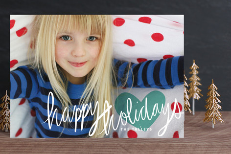 Autograph Petite Holiday Photo Cards