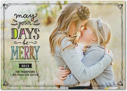 Cherished Days Holiday Photo Cards