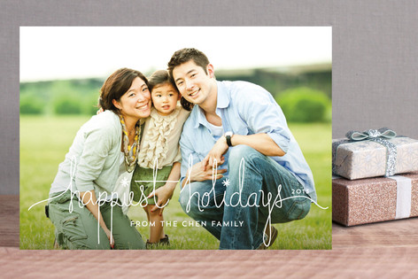 Holiday Revelry Photo Cards