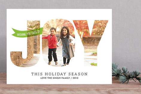 Spreading Joy Holiday Photo Cards