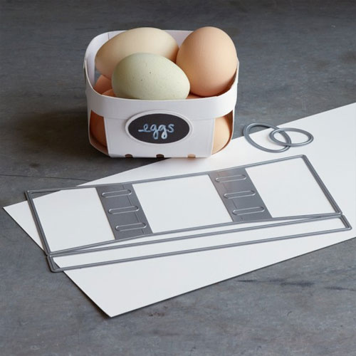 Basket and Label Dies | Williams Sonoma