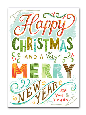 Happy Christmas Card | Beau Ideal