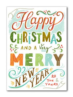 Happy Christmas Card   Beau Ideal