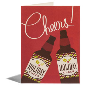 Holiday Beer Card | Snow & Graham