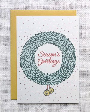 Season's Greetings Card | Hennel Paper Co.