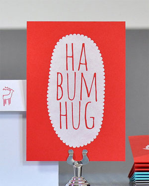 Ha Bum Hug Holiday Card | Bread & Jam