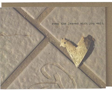 Leaves Greeting Card | Dani Press